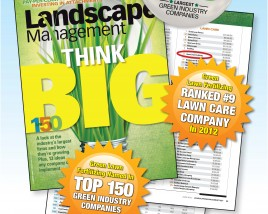 Lawn Care Division, Green Lawn Fertilizing ranked in top 150 Green Industry Companies