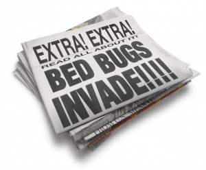 Bed Bugs scare Goodwill