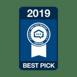 2019 Best Pick