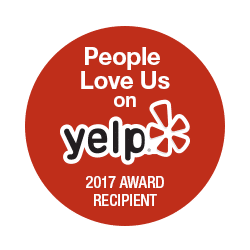 People Love Us on Yelp 2017 Award