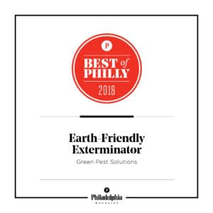 Green Pest Solutions Named Best of Philly for Earth Friendly Exterminator