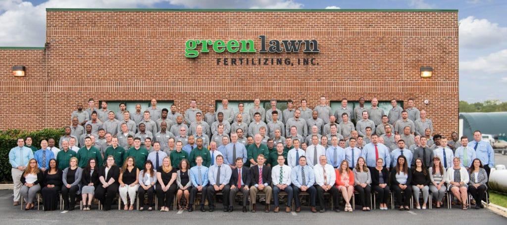 Green Lawn staff 2019